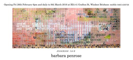 barbara penrose Anagram 1&2